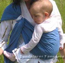 """""""a la cadera"""" con bebé de 7 meses"""