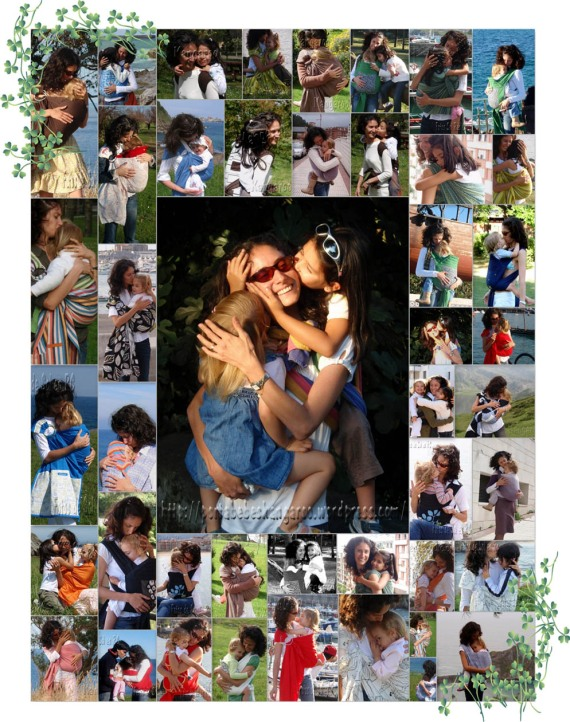 collage besos